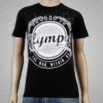 Onward To Olympas Wreath Black T-Shirt