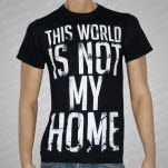 Onward To Olympas Not My Home Black T-Shirt