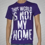 Onward To Olympas Not My Home Purple T-Shirt