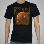 Orbs Asleep Next To Science Black T-Shirt