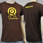 ORG Music Logo Brown T-Shirt