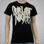 Our Last Night Gold Logo Black T-Shirt