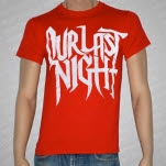 Our Last Night Logo Red T-Shirt