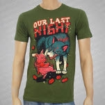 Our Last Night Pig Wolf Green T-Shirt