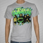 Outbreak Apes Heather Gray T-Shirt