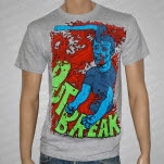 Outbreak Axe Head Gray T-Shirt