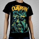 Outbreak Bats Black T-Shirt
