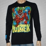 Outbreak Demon Black Long Sleeve Shirt