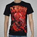 Outbreak Demon Head Black T-Shirt
