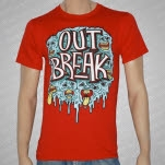 Outbreak Faces Red T-Shirt
