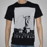 Outbreak Headless Angel Black T-Shirt