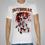 Outbreak Head Explosion White T-Shirt