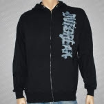 Outbreak Blue Logo Hoodie Zip