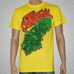 Outbreak TV Spew Yellow T-Shirt
