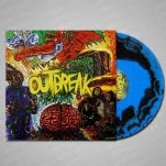 Outbreak Self Titled BlackBlue Swirl Vinyl LP