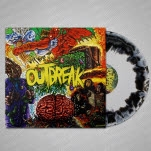 Outbreak Self Titled BlackWhite Swirl Vinyl LP