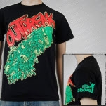 Outbreak TV Spew Black T-Shirt