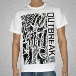 Outbreak Work To Death White T-Shirt