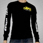 Outbreak Without Warning Black Long Sleeve Shirt