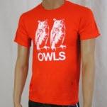 Owls Twins Orange T-Shirt