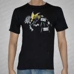 Paint It Black Rooster Black T-Shirt
