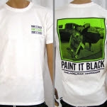 Paint It Black Skate White T-Shirt