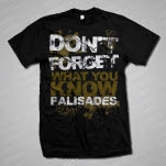 Palisades Dont Forget Black T-Shirt