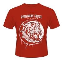 Parkway Drive Tiger Bones T-Shirt