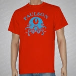 Paulson Eyeball Red T-Shirt