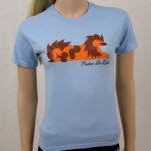 Pedro The Lion Achilles Light Blue T-Shirt
