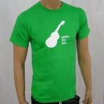 Pedro The Lion Guitar Green T-Shirt