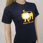 Pedro The Lion Lion Navy T-Shirt