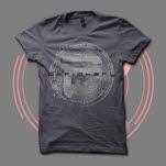 Periphery Burst Charcoal T-Shirt