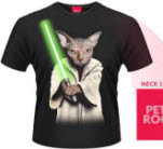Pets Rock Master Cat T-Shirt