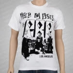 Piece By Piece Band Letters White T-Shirt