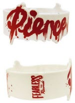 Pierce The Veil Logo Silicon Wrist Band