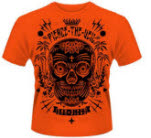 Pierce The Veil Sugar Skull Orange T-Shirt