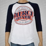 Pierce The Veil Baseball logo WhiteNavy Baseball T-Shirt