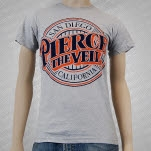 Pierce The Veil Baseball Logo Heather Gray T-Shirt