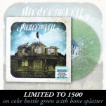 Pierce The Veil Collide With The Sky Coke Bottle Green w Bone Splatter Vinyl LP