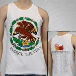 Pierce The Veil Eagle White Tank Top