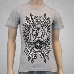Pierce The Veil Eagle Grey T-Shirt