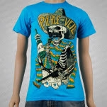 Pierce The Veil Hombre Teal T-Shirt