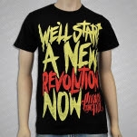 Pierce The Veil New Revolution Black T-Shirt