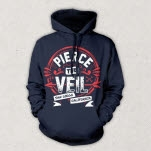 Pierce The Veil San Diego Navy Pullover