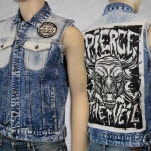 Pierce The Veil PTV Custom Denim Jacket