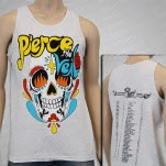 Pierce The Veil Skull Ash Tank Top