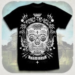 Pierce The Veil Sugar Skull Black T-Shirt