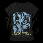 Pierce The Veil This is a Wasteland Photo Black Girls T-Shirt