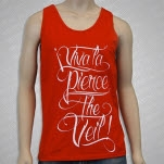 Pierce The Veil Viva La Red Tank Top